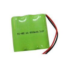 3.6V 800mAh Nickel Metal Hydride Battery Pack, AA Size, for Cordless Phone, Radio Products