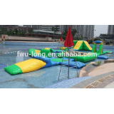 High quality giant inflatable water park Banana boat,float tube water toys for sale