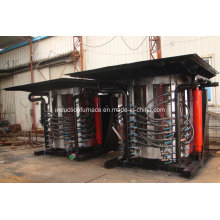 Medium Frequency Induction Furnace for Melting Steel, Iron, Stainless Steel, Copper