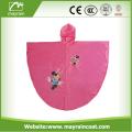 Waterproof Portable Kids PVC Hood Rain Poncho