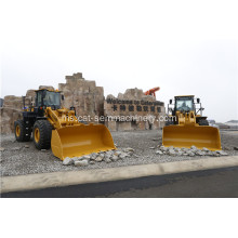 8 ton berat load wheel loader