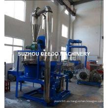 Máquina pulverizadora de PVC de plástico