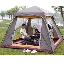 Im Freien kampierendes 6-10 Leute-automatisches regendichtes winddichtes Strand-Fischen-Zelt