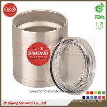Bola de vácuo de aço inoxidável de 12 oz, refrigerador de lata