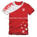 sport wear kings 11 punjab printing custom made t shirts