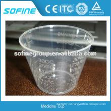 Einweg-60ml Medicine Cup Top-Qualität mit CE
