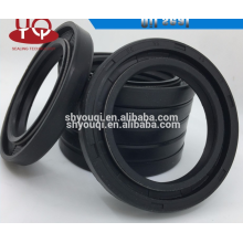 Double spring DC oil seals black rubber nbr oil seals