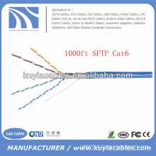 Blau 305m Twister Paar 4pairs Cat6 SFTP Kabel
