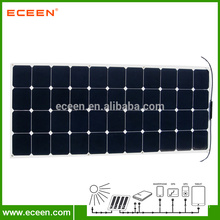 130W Sunpower Monocrystalline Flexible Solar Panel For Car