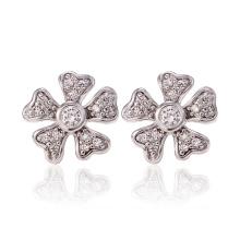 26733 Xuping Synthetic CZJewelry Boucles d'oreilles en forme de fleur en forme de fleur