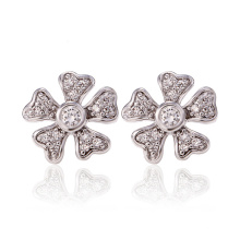 26733 Xuping Synthetic CZJewelry  Fashion design elegant flower shaped studs earrings