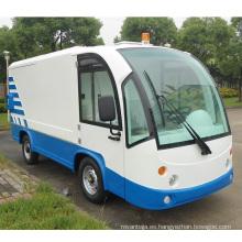 Carro de transporte de basura eléctrico de asiento 2 (DT-12)