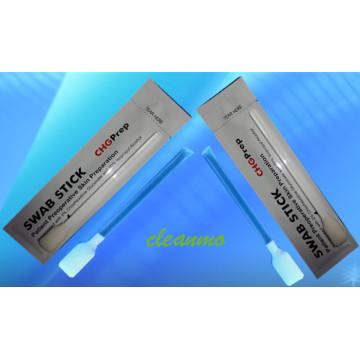 2% de tampon de gluconate de chlorhexidine, 70% d'alcool isopropylique (IPA)