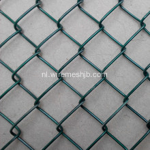 The Basketball Court Fence-Green Color Chain Link Fence