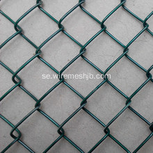 Basketbollsstängsel-Green Color Chain Link Fence