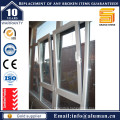 Economy Powder Coating Aluminum Glass Casement Window