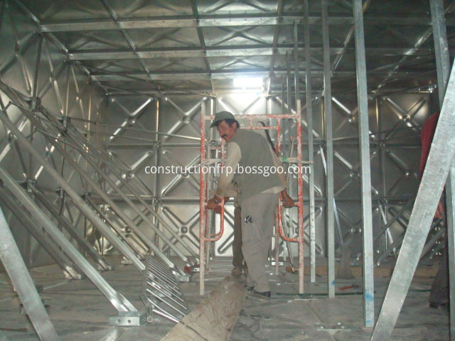Galvanized Elevated Panel Tank