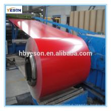 Bobina de aço revestida a cores (PPGI / PPGL) Bobina pré-pintada de aço galvanizado / DX51D / CGCC / SGCC / SD250