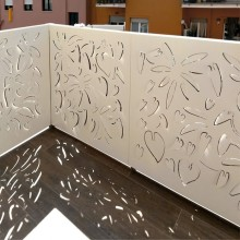 Laser Cut Balcony Panel