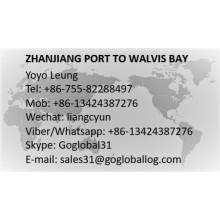 Zhanjiang Zhanjiang Sea Freight Port to Namibia Walvis Bay