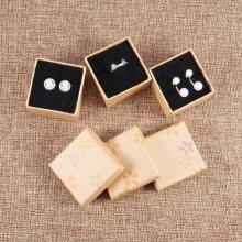 Caja de embalaje de joyería multicolor especial para pendientes