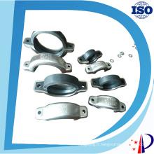 Accouplements rainurés de connecteur de tuyau de bride d'acier inoxydable