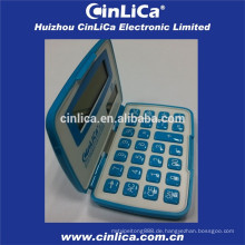 Kreditkartengröße faltbarer Taschenrechner