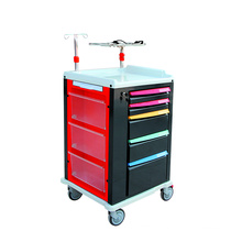 Mobile Hospital Emergency Trolley with Wheels