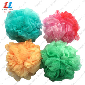 2-in-1 Pantone Color luffa bath sponge