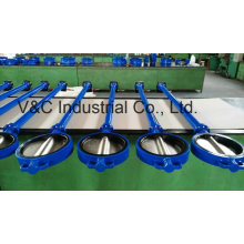 Extension Stem Wafer Butterfly Valve