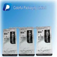 Kundenspezifischer Aluminiumfolie-Kohlenstoffstaubbeutel mit Risskerbe