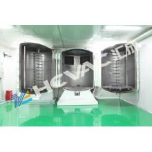 Equipamento do revestimento de vácuo das lâmpadas do carro de Hcvac / máquina de revestimento vácuo auto peças