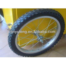20 inch bike wheel for display table use