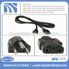 3 Prong AC Ordenador de sobremesa Cable de cable de alimentación para Dell Sony IBM