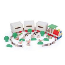 Ферма элемент игрушка животные и растения игрушка триан