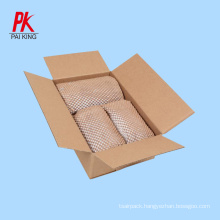 Biodegradable Recycle and recyclable Geami wrap pack honeycomb kraft paper honeycomb cushioning protective wrap