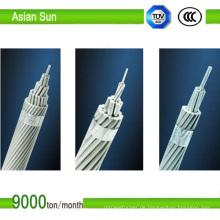 Bare Aluminiumleiter AAC / AAAC Stahl verstärkt ACSR Draht
