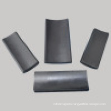 Y30 Industrail Hard Ferrite Large Arc Magnet (UNI-Ferrite-io7)