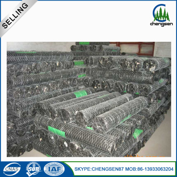PVC Coated Hexagonal Weaving Wire Netting