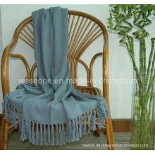 Wurf von Bambus, Bambus Decke, Bambusfaser werfen Bb-09122