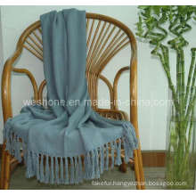 Bamboo Throw, Bamboo Blanket, Bamboo Fiber Throw Bb-09122