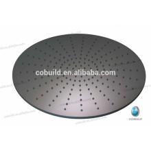 Cabeça de chuveiro de economia de água de 400 mm, teto de aço inoxidável Cabeça de chuveiro portátil