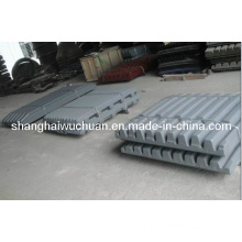 Movable/Swing and Fixed Jaw Plate for Stone Crusher Spare Parts
