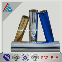 aluminum PET film for metallized packaging