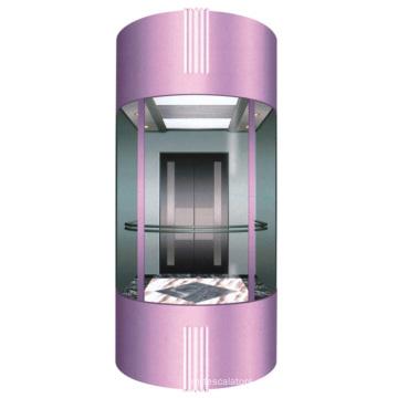 Außenglas Sightseeing Aufzug