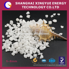 99.5% purity white alumina with excellent hardness and wear rate