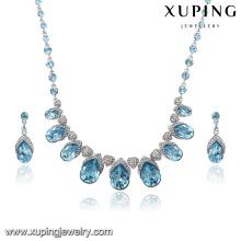 Großhandel Luxus Weihnachtsgeschenke Schmuck Set mit Kristallen von Swarovski