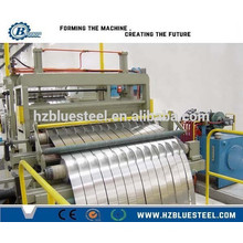 Auto Stainless Steel Galvanized Metal Coil Slitting Line With Recoiler For Sale