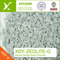 1-2 MM green zeolite granule to Aquatic