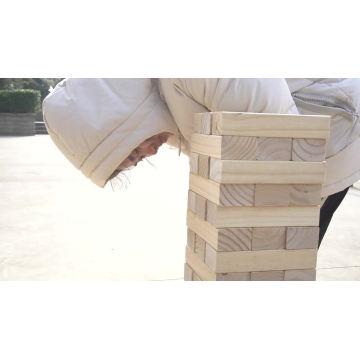 Juego de torre de madera de juguetes